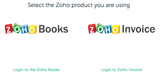 Official Invoice Template How To Connect Zoho Books Or Zoho Invoice  Fundbox  Help Invoice Labels Word with Invoice Discounting Definition Excel Select The Zoho Product You Use To Invoice Your Customers Best Invoice Software Free Pdf